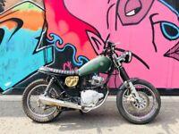 Yamaha SR125 Rat Scrambler