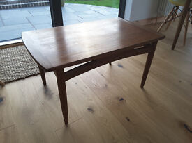 Vintage midcentury 1950s 1960s teak E Gomme G Plan small coffee table