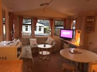 Static Caravan to let, EASTER WEEKEND, includes FREE Entertainment, Middlemuir Heights