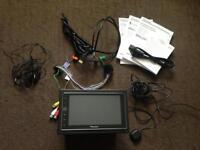 Pioneer SPH-DA120 Apple Play Headunit Touchscreen Satnav IPod Aux Subwoofer