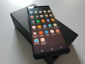 SAMSUNG NOTE 8 BRAND NEW CONDITION HARDLY USED UNLOCKED £450
