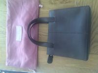 Radley small brown leather handbag