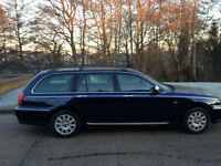 ROVER 75 1.8 CONNOISSEUR TOURER ESTATE LEATHER INTERIOR CD ALLOYS AIR CON MOT 7 MONTHS- CAN DELIVER