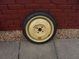 "SPACE SAVER SPARE WHEEL - 15"" - COVER INCLUDED"