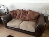 Sofa- x2 matching sofas.