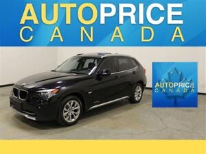 2015 BMW X1 xDrive28i PANORAMIC ROOF|LEATHER|KEYLESS
