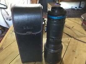 Sigma 400mm AF tele 5.6 lens with photo diox pro yashica to FX converter