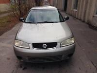 2003 Nissan Sentra 800$