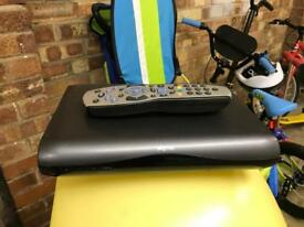 Sky hd set top box with remote