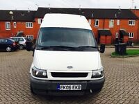 FORD TRANSIT HIGH TOP DRIVES LIKE BRAND NRW LOOKS IMMACULATE NO RUST STRONG ENGIN MOT 11 MONTHS