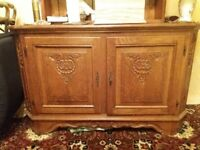 Cabinet with matching corner unit available