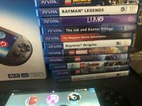 Ps vita with game