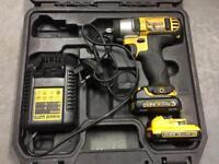 dewalt reciprocating saw and dewalt impact wrench