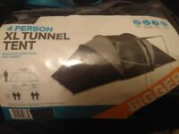 XL 4 person tunnel tent