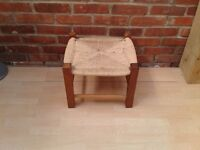 Wicker Foot Stool - DELIVERY AVAILABLE