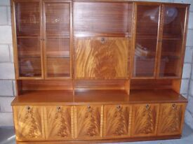 Teak Drinks and Display cabinet