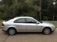 FORD MONDEO 2.0 TDCI ZETEC DIESEL 2003 DOES OVER 50 MPG MOT MAY 2017 -ALLOY WHEELS AIR CON CD PLAYER
