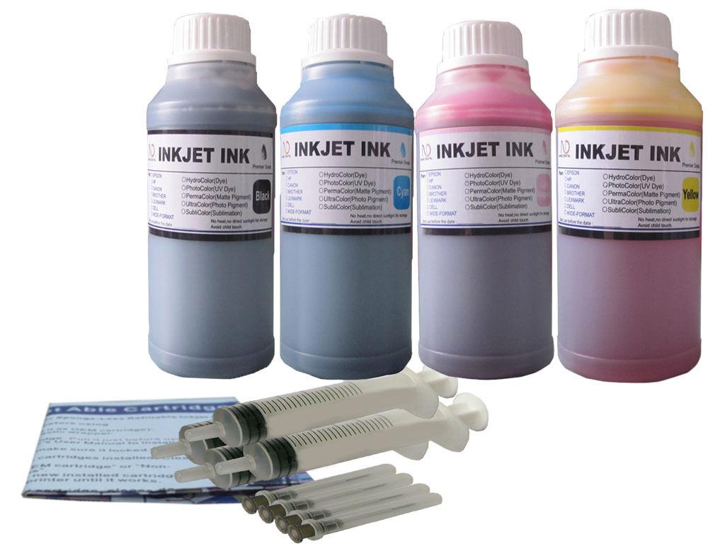 Ink refill kit for HP 63 XL ENVY 4520 OfficeJet 3830 3831