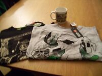 Kids Star Wars Tops (1 Lego), New with Tags Free Mug.