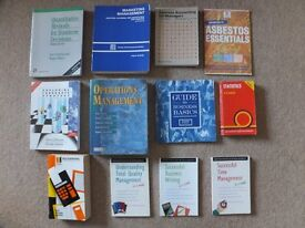 Job lot Business Books: Statistics, Accounting, Strategy, Marketing, Operations, Management, etc.