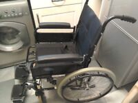 Invacare duo self propelled wheelchair