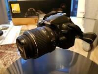 Nikon D3100 DSLR Camera + 18-55mm VR Lens