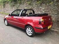 Volkswagen Golf 1.6 SE Cabriolet with FSH and Long MOT