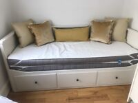 Trundle bed - in excellent condition. Includes two mattresses and mattress protectors