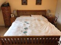 Bed and bedroom furniture - reclaimed Vietnamese wood