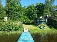 chalet bord du Lac Gagnon