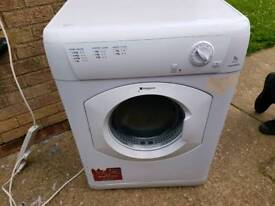 Hotpoint 8kg vented dryer