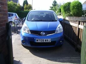 09 NISSAN NOTE AUTO