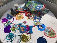 Paw patrol party decorations table cloth and james 3rd birthday banner