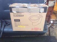 CL624BWP toilet pan