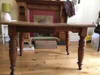 Antique dining table £30