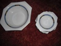 """Soho Pottery Solian Ware """"Orchard"""" design dishes"""