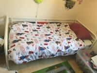 Ikea Sultan Lade single bed