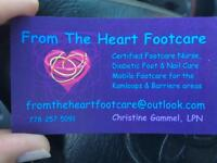 From The Heart Footcare