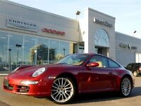 2008 Porsche 911 Carrera 4 AWD Manual Leather Sunroof Chrono Gau