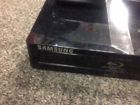 Samsung blu player with remote