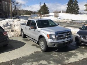 2013 Ford F-150 XLT XTR Crewcab, 6.5' box, 4x4, 5.0L