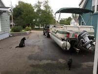 LEGEND Pontoon Boat