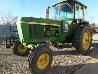 John Deere 4230 Tractor W Cab Heat Ac Incredible Original
