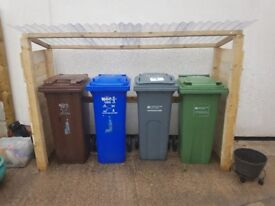 Brand new - TIMBER BIN STORE - delivered