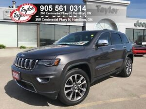2018 Jeep Grand Cherokee Limited 4x4 V6 w/Tow Pack, Navi, Pano R