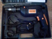Electric drill and bits in case.hardly used ,no time wasters