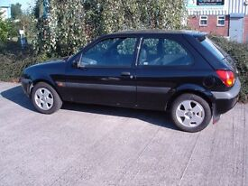 2001 Ford Fiesta 1.8 TDi, 6 month MOT, 55 MPG and New Tyres.