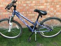 Apollo mountain bike 12 inch frame