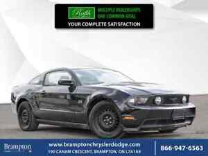 2010 Ford Mustang GT|LEATHER|MANUAL|WINTER TIRES|PANORAMIC ROOF|