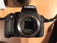 Canon EOS 550d, 2 lenses, Carry bag and Memory Card